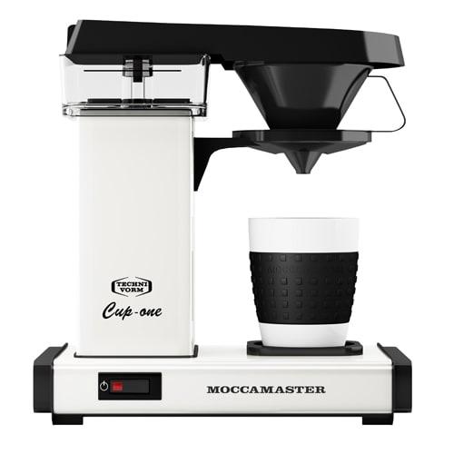 Image of   Moccamaster kaffemaskine - Cup-one - White