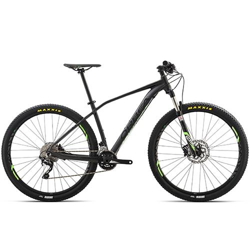 """Orbea Alma H50 27,5"""" mountainbike med 20 gear - Sort/lime"""