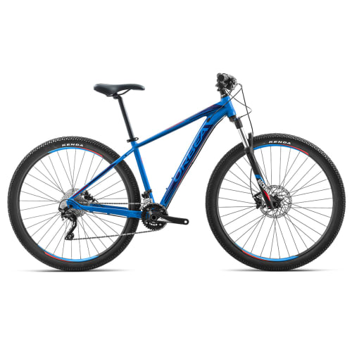 """Orbea MX10 27,5"""" mountainbike med 20 gear - Blå/rød"""