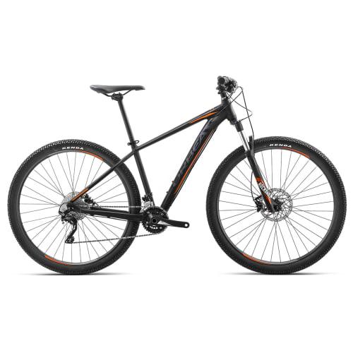 """Orbea MX10 29"""" mountainbike med 20 gear - Sort/orange"""