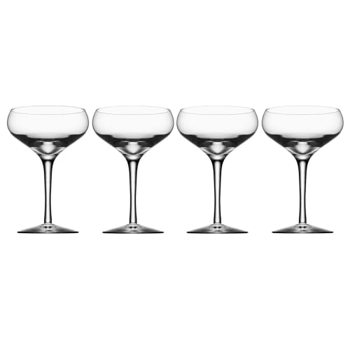 Image of   Orrefors champagneglas - More Coupe - 4 stk.
