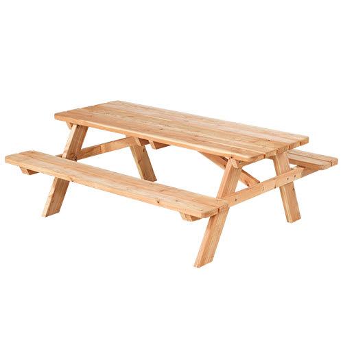 Plus bord- og bænkesæt - Basic - Natur