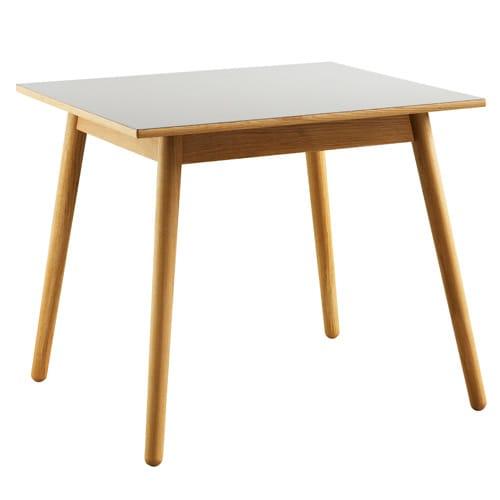Image of   Poul M. Volther 4 pers. spisebord - C35A - Eg/grå linoleum