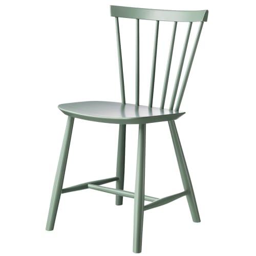 Image of   Poul M. Volther stol - J46 - Støvet grøn