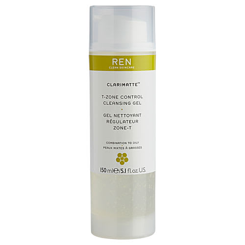 Image of   Ren Clarimatte T-zone Control Cleansing Gel - 150 ml