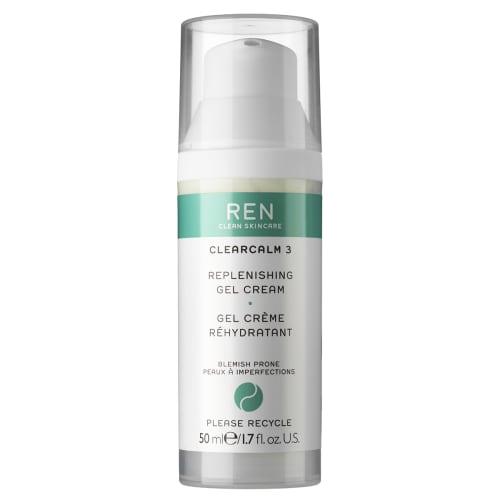 Image of   Ren Clearcalm 3 Replenishing Gel Cream - 50 ml
