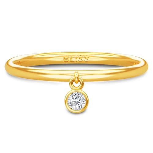 Image of   Spinning Jewelry ring - Aura Bliss - Forgyldt sterlingsølv