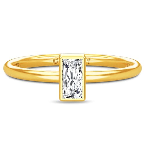 Image of   Spinning Jewelry ring - Aura Clarity - Forgyldt sterlingsølv