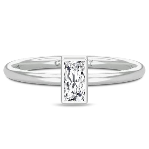 Image of   Spinning Jewelry ring - Aura Clarity - Rhodineret sterlingsølv