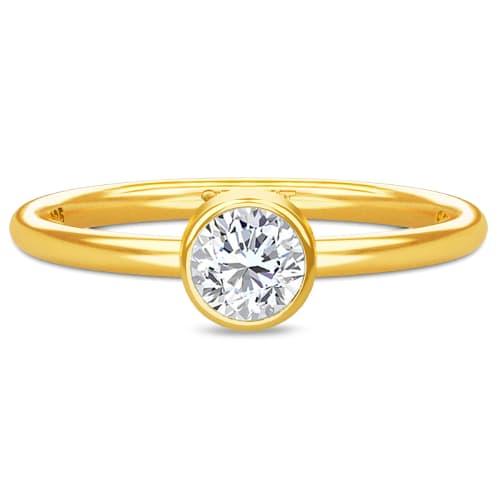 Image of   Spinning Jewelry ring - Aura Spirit - Forgyldt sterlingsølv