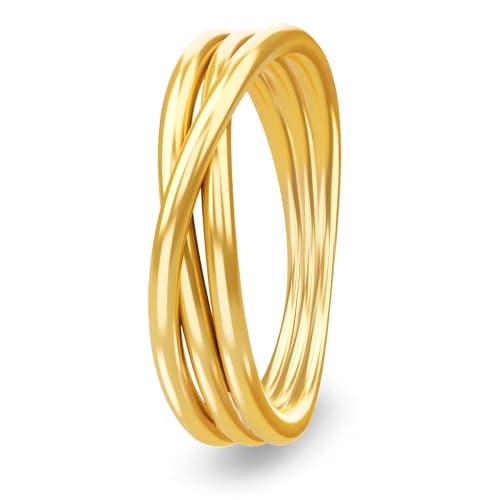 Image of   Spinning Jewelry ring - Dedication - Forgyldt sterlingsølv