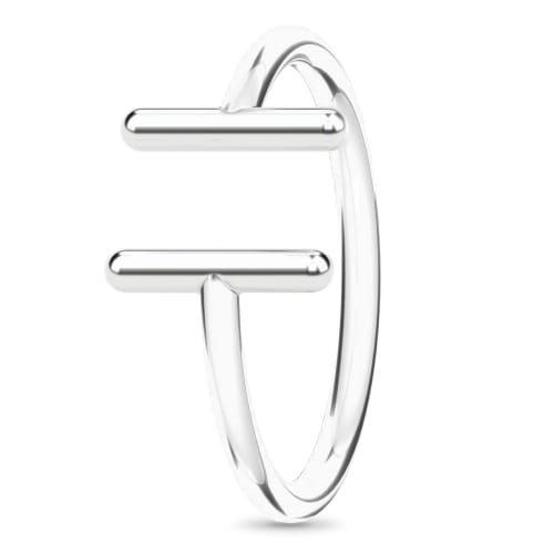 Image of   Spinning Jewelry ring - Gallery - Rhodineret sterlingsølv