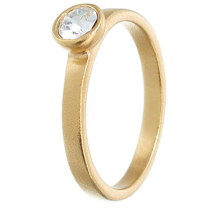 Image of   Spinning Jewelry ring - Glow - Forgyldt sterlingsølv