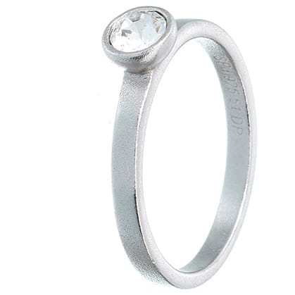 Image of   Spinning Jewelry ring - Glow - Rhodineret sterlingsølv