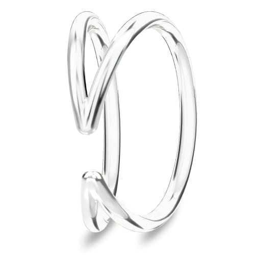 Image of   Spinning Jewelry ring - Humanity - Rhodineret sterlingsølv