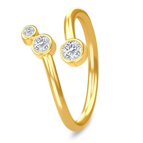 Image of   Spinning Jewelry ring - Orion - Forgyldt sterlingsølv
