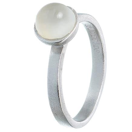 Image of   Spinning Jewelry ring - Sea - Rhodineret sterlingsølv