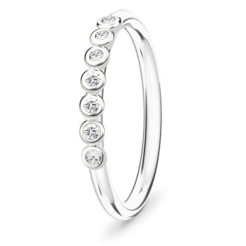 Image of   Spinning Jewelry ring - Sensation - Rhodineret sterlingsølv