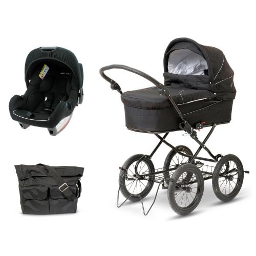 Startpakke BabyTrold X-cellent barnevogn & Premium autostol