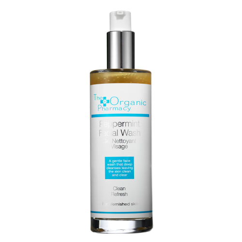 Image of   The Organic Pharmacy Peppermint Facial Wash - 100 ml