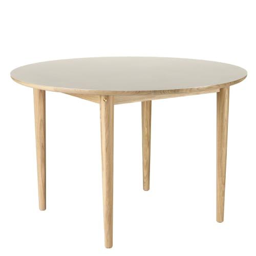 Image of   Unit10 spisebord - C62 Bjørk - Eg/lysegrå linoleum