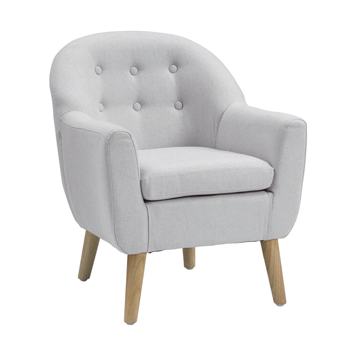 Fin lænestol til børneværelset - L 49 x H 58,5 x B 51 cm
