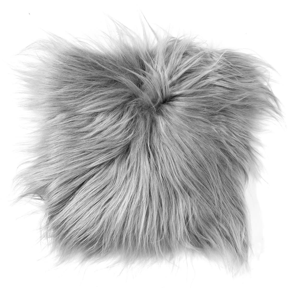 Langhåret, indfarvet lammeskind
