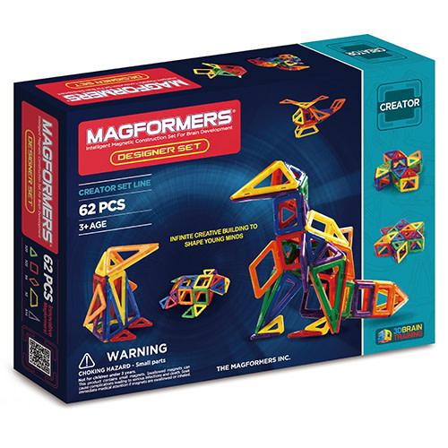 Kreativt magnetisk legetøj - Byg dyr og figurer i 3D