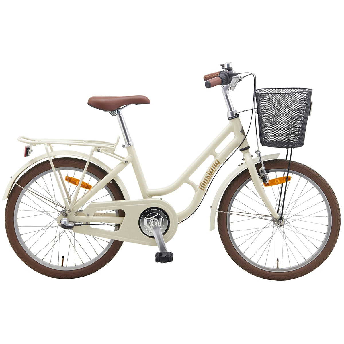 Klassisk cykel til små damer på 6-8 år