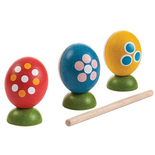 Farverigt, stimulerende og musikalsk legetøj i bæredygtigt træ