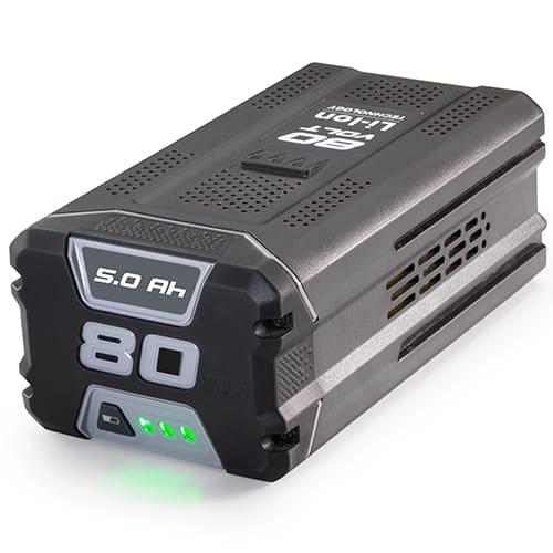 5,0 Ah 80 V - Passer til 80 V batteriserien fra Stiga og Alpina