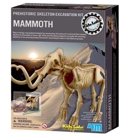 Udgrav og saml dit eget forhistoriske skelet