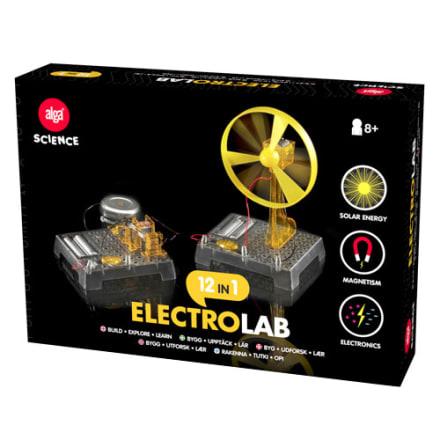 Med 12 lærerige eksperimenter om elektricitet