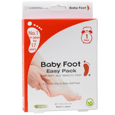 Fjerner hård og tør hud på fødderne på kun 7 dage