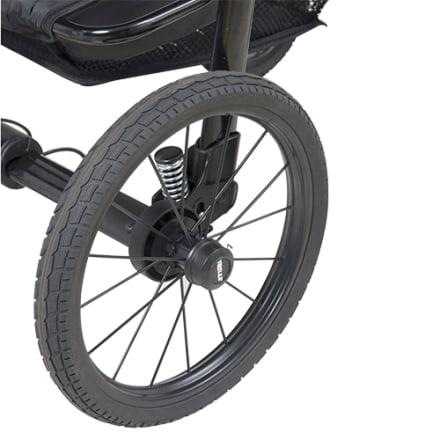 Punkterfrit og massivt hjul, der passer til BabyTrold barnevogne
