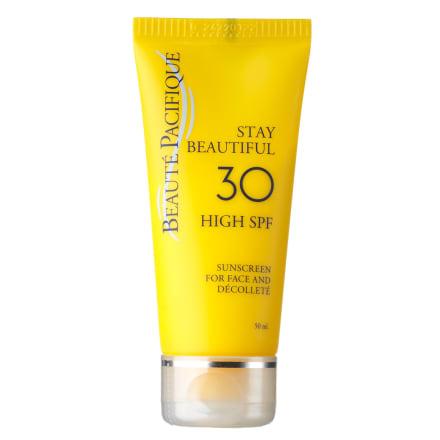 Solcreme til ansigtet med høj beskyttelse