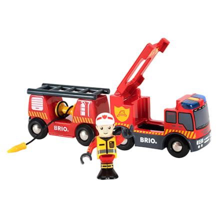 Sæt gang i lys og sirener og lad brandmanden hjælpe