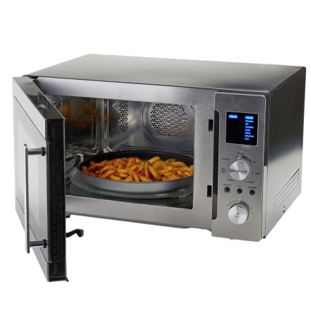 Mikroovn med airfryer-funktion, grill og varmluft - 25 liter