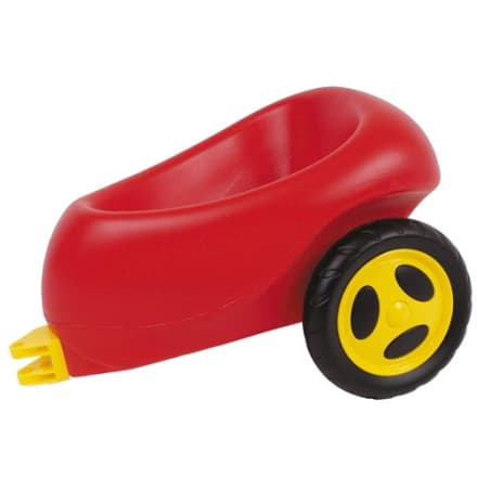 Med plast-hjul - Danskproduceret og Svanemærket