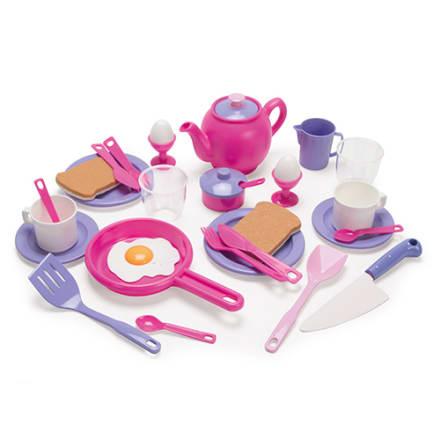 32 dele - Se den lille kok forberede morgenmaden