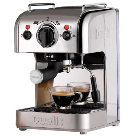 Kan bruges til både malet kaffe, pods og kapsler