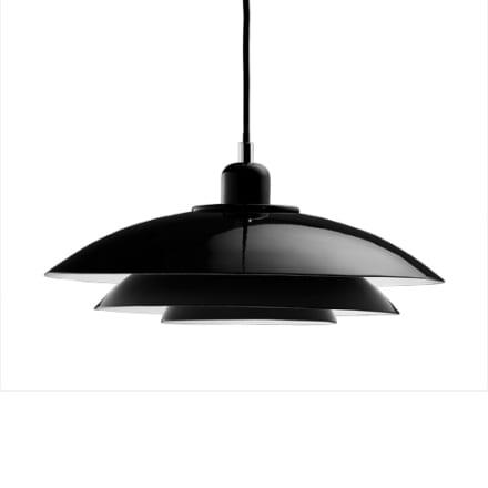 Ø 38 cm - Inkl. porcelænsfatning, ledning og loft-roset - Dansk design