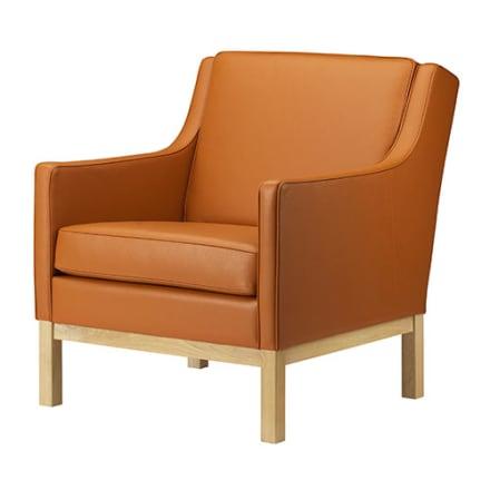 FDB Møbler - Klassisk læderstol designet i 1967