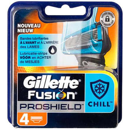 4 stk. barberblade med 5 skær - Flexball-teknologi og kølende strips