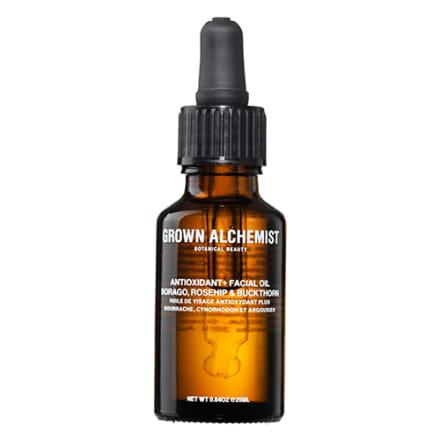 Fugtgivende olie rig på antioxidanter
