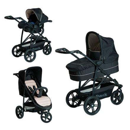 Inkl. lift, klapvogn og babyautostol