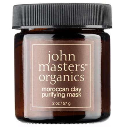 Rensende og afbalancerende lermaske til fedtet hud