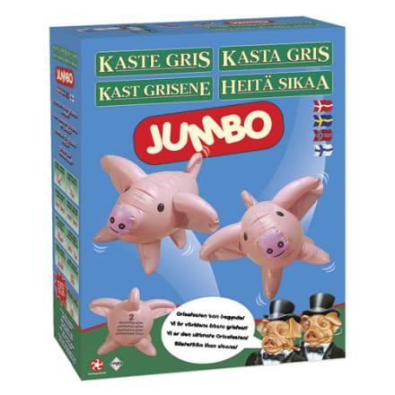 Det klassiske spil - nu som havespil med store oppustelige grise