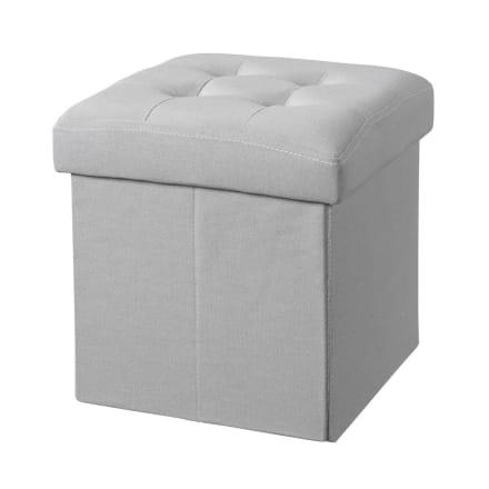 Fin puf med opbevaring til børneværelset - H 30 x B 30 x L 30 cm