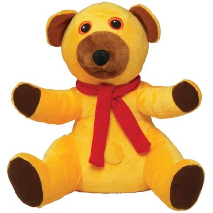 H 26 cm - Beanbag bamse kendt fra tv